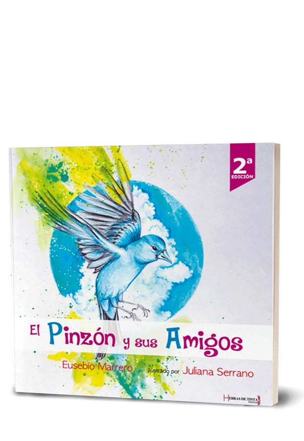 Autopublicación literaria. Editorial Hebras de Tinta. El pinzón y sus amigos.
