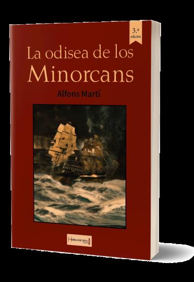 Autopublicación literaria. Editorial Hebras de Tinta. La odisea de los Minorcans.