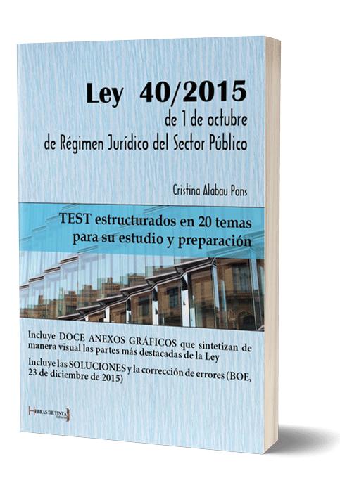 Autopublicación literaria. Editorial Hebras de Tinta. Ley 40/2015 de 1 de octubre de Régimen Jurídico del Sector Público.