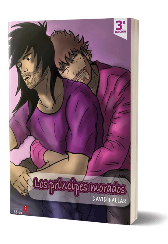 Autopublicación literaria. Editorial Hebras de Tinta. Los príncipes morados.