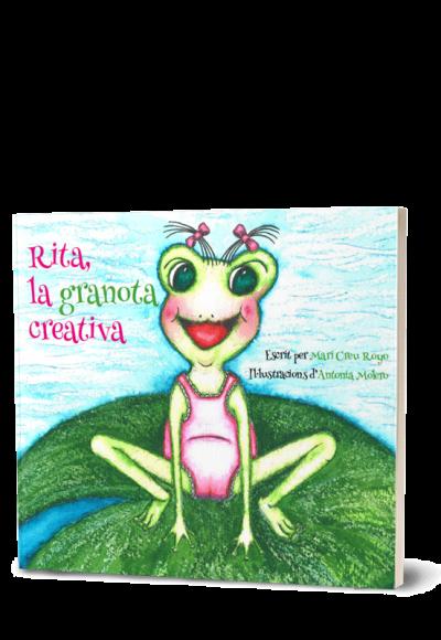 Autopublicación literaria. Editorial Hebras de Tinta. Rita la granota creativa.