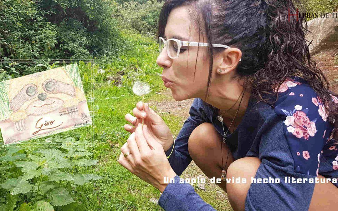 Un soplo de vida literaria. Sara Pacheco Infante. ESCRITORA
