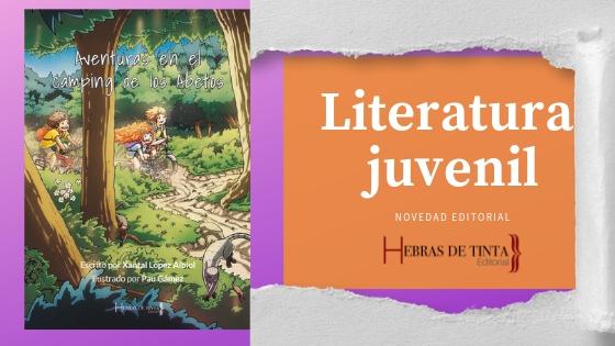 Nueva portada para nuestro libro de literatura juvenil