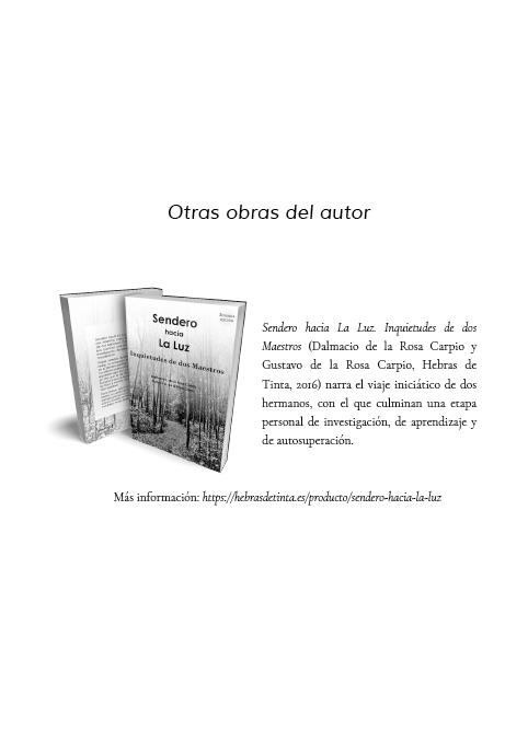 Autopublicado en la editorial Hebras de Tinta