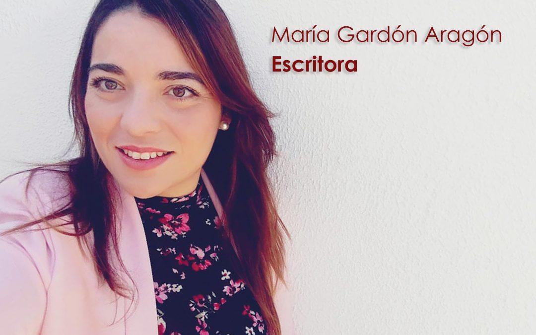 """María Gardón: «Con """"La hormiga perdida"""" quiero dar un mensaje de esperanza ante las adversidades de la vida»."""