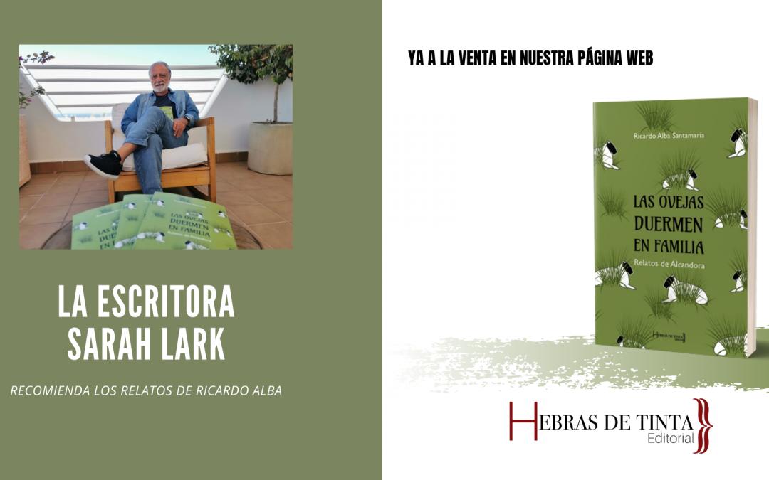 Ricardo Alba. Autopublicado en la editorial Hebras de Tinta