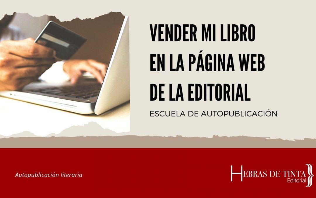 Vender mi libro en la página web de Hebras de Tinta
