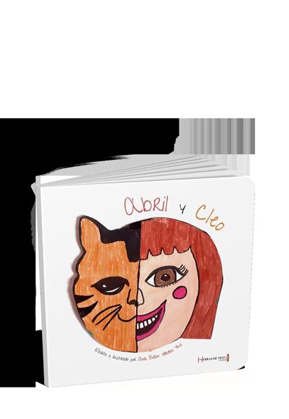 Abril y Cleo. Autopublicación Hebras de Tinta