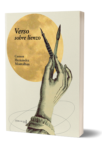 Verso sobre lienzo. Autopublicación Hebras de Tinta