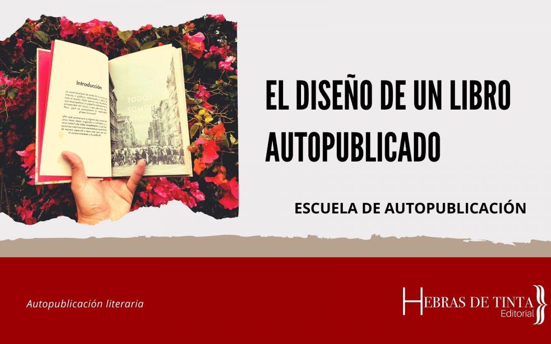El diseño de un libro autopublicado